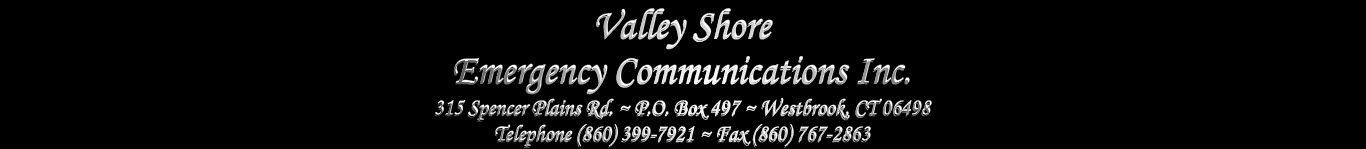 Valley Shore Emergency Communications